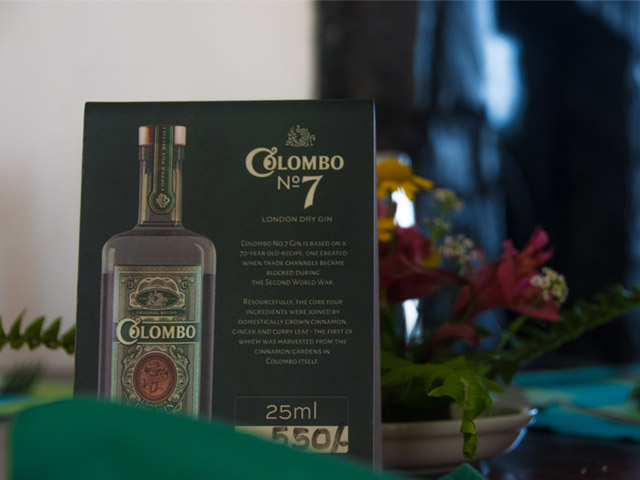 taste colombo 7 gin in rock